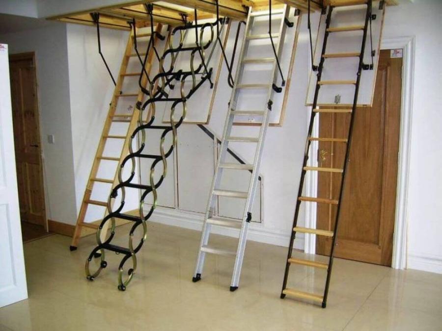 Как выбрать лестницы