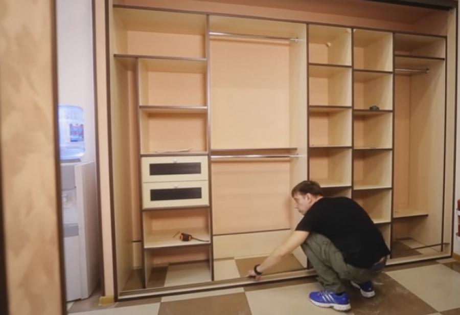 Пошаговая инструкция как сделать встроенный шкаф 220
