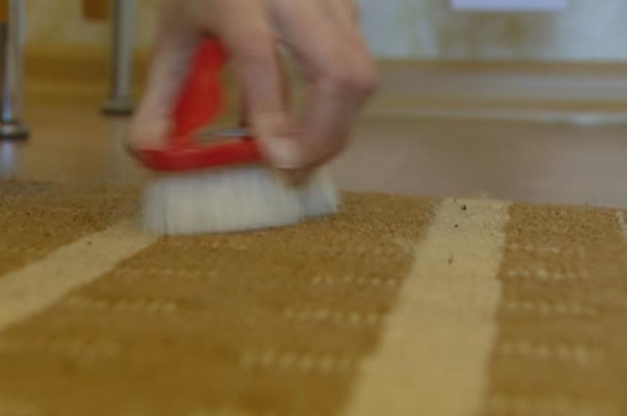 Чем чистить ковер в домашних условиях уксус