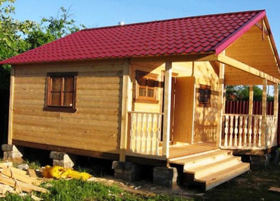 Из чего дёшево построить дачный домик своими руками 30