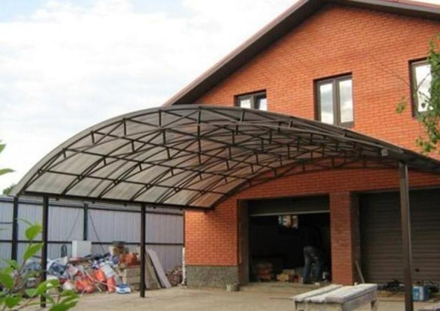 Арочные навесы из поликарбоната и другие конструкции, 30
