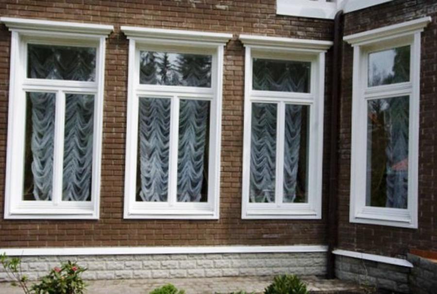 Наличники на пластиковые окна деревянные своими руками.