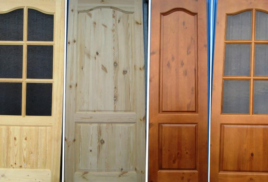 Межкомнатные двери из Массива в Минске